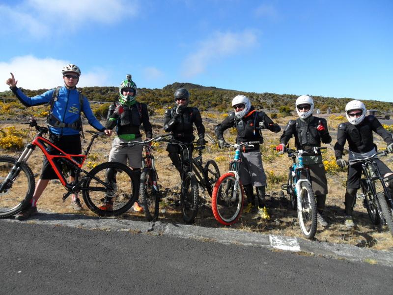 Randonnée à vélo Sur La Réunion